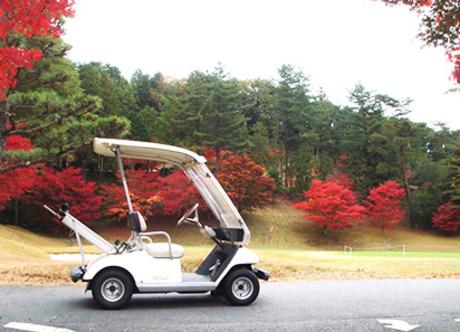 「普通自動車免許」があれば、それ以外の資格は一切必要無し。ゴルフ好きの方にもピッタリな職場です。
